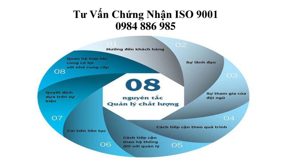Tư vấn chứng nhận ISO 9001