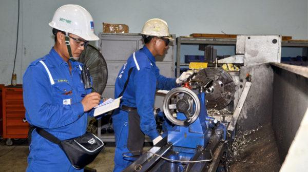 An toàn lao động trong sản xuất cơ khi