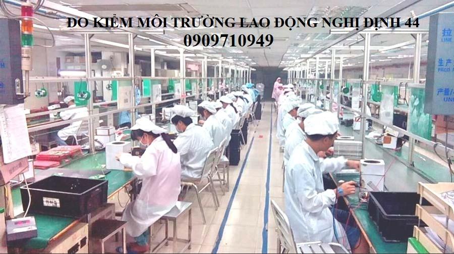 Đo kiểm môi trường lao động