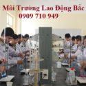 Quan trắc môi trường lao động tại Bắc Giang