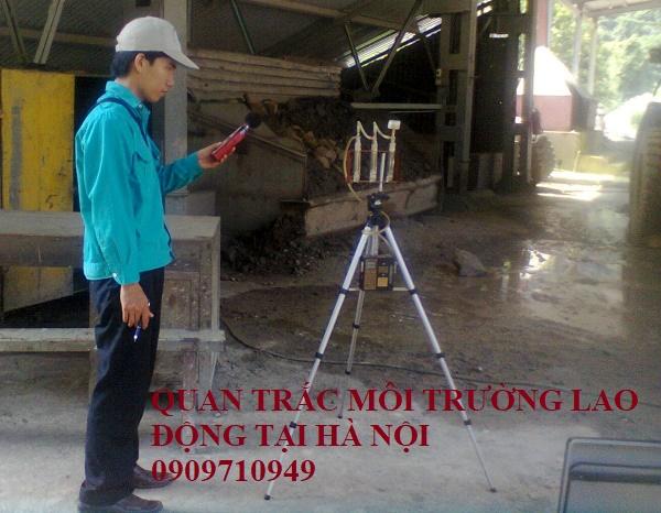 Quan trắc môi trường lao động tại Hà Nội